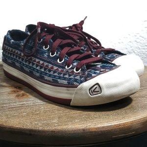 Keen Aztec Print Sneakers - EUC size 8